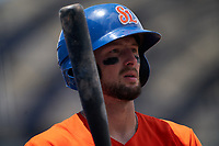 St. Lucie Mets Cody Bohanek (10) at bat during a Florida State League game against the Daytona Tortugas on August 11, 2019 at First Data Field in St. Lucie, Florida.  Daytona defeated St. Lucie 7-4.  (Mike Janes/Four Seam Images)
