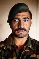Afghan National Army soldier in Herat province.