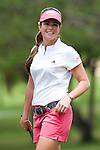 CHON BURI, THAILAND - FEBRUARY 17:  Paula Creamer of USA smiles on the 2nd hole during day one of the LPGA Thailand at Siam Country Club on February 17, 2011 in Chon Buri, Thailand.  Photo by Victor Fraile / The Power of Sport Images