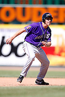 May 31, 2009:  Outfielder Matt McBride of the Akron Aeros runs the bases during a game at Jerry Uht Park in Erie, NY.  The Aeros are the Eastern League Double-A affiliate of the Cleveland Indians.  Photo by:  Mike Janes/Four Seam Images