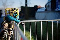 Nicolas Cleppe (BEL/Telenet-Fidea) post-race<br /> <br /> GP Sven Nys 2015