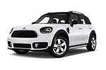 Stock pictures of low aggressive front three quarter view of 2019 MINI Countryman 5-Door 5 Door Hatchback Low Aggressive