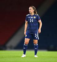 21st September 2021; Hampden Park, Glasgow, Scotland: FIFA Womens World Cup qualifying, Scotland versus Faroe Islands; Chloe Arthur of Scotland