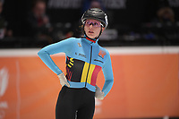 SPEEDSKATING: DORDRECHT: 06-03-2021, ISU World Short Track Speedskating Championships, SF 1500m Ladies, Hanne Desmet (BEL), ©photo Martin de Jong