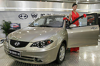 A Hafei Saibao V is shown in The Beijing International Automobile Exhibition..19 Nov 2006