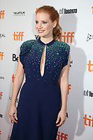 JESSICA CHASTAIN - RED CARPET OF THE FILM 'MOLLY'S GAME' - 42ND TORONTO INTERNATIONAL FILM FESTIVAL 2017 . TORONTO, CANADA, 09/09/2017. # FESTIVAL DU FILM DE TORONTO - RED CARPET 'MOLLY'S GAME'
