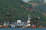 Dredging the Columbia River