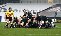 Monday 9th November 2020 | Ulster Rugby vs Glasgow Warriors<br /> <br /> Jamie Dobie during the Guinness PRO14 Round 5 match between Ulster Rugby and Glasgow Warriors at Kingspan Stadium in Belfast, Northern Ireland. Photo by John Dickson / Dicksondigital
