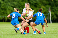 24 August 2019; Neve Jones during the Women's Interprovincial Championship match between Ulster and Leinster at Armagh RFC in Armagh. Photo by John Dickson / DICKSONDIGITAL