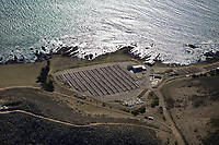 aerial photograph of the Abalone Farm, Cayucos, San Luis Obispo County, California