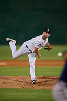 Jackson Generals pitcher Matt Brill (36) during a Southern League game against the Mississippi Braves on July 23, 2019 at The Ballpark at Jackson in Jackson, Tennessee.  Mississippi defeated Jackson 1-0 in the second game of a doubleheader.  (Mike Janes/Four Seam Images)