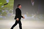 Samuel Dumoulin (FRA) introduced on stage at the Tour de France 2020 route presentation held in the Palais des Congrès de Paris (Porte Maillot), Paris, France. 15th October 2019.<br /> Picture: Eoin Clarke | Cyclefile<br /> <br /> All photos usage must carry mandatory copyright credit (© Cyclefile | Eoin Clarke)
