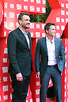 'Sex Tape' Barcelona - Photocall.<br /> Jason Segel and Rob Lowe pose during a photocall for their latest film 'Sex Tape'.
