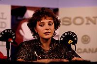 FILE -Anne Letourneau<br /> au Festival des films du Monde, le 31 aout 1985