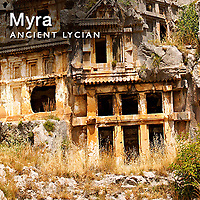 Myra Lycian Rock Tombs Pictures, Images & photos, Turkey