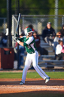 Farmingdale State Rams Nick LaSala (20) at bat during the second game of a doubleheader against the FDU-Florham Devils on March 15, 2017 at Lake Myrtle Park in Auburndale, Florida.  FDU-Florham defeated Farmingdale 8-4.  (Mike Janes/Four Seam Images)