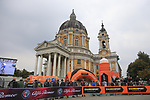 The Superga Basilica finish line of the 99th edition of Milan-Turin 2018, running 200km from Magenta Milan to Superga Basilica Turin, Italy. 10th October 2018.<br /> Picture: Eoin Clarke | Cyclefile<br /> <br /> <br /> All photos usage must carry mandatory copyright credit (© Cyclefile | Eoin Clarke)