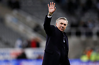 Everton manager Carlo Ancelotti celebrates to the Everton fans during the Premier League match at St. James s Park, Newcastle. Picture date: 28th December 2019. Picture credit should read: James Wilson/Sportimage PUBLICATIONxNOTxINxUK SPI-0400-0044<br /> Everton Vs Newcastle <br /> Foto Imago/Insidefoto <br /> ITALY ONLY