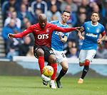 05.05.2018 Rangers v Kilmarnock: Youssouf Mulumbu and Jason Holt