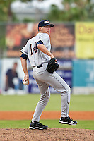 Adam Wilk of the Lakeland Flying Tigers in the game against the Daytona Cubs June 16 2010 at Jackie Robinson Ballpark in Daytona Beach, Florida.  Photo By Scott Jontes/Four Seam Images