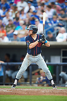 Bowing Green Hot Rods designated hitter Brett Sullivan (8) at bat during a game against the Quad Cities River Bandits on July 24, 2016 at Modern Woodmen Park in Davenport, Iowa.  Quad Cities defeated Bowling Green 6-5.  (Mike Janes/Four Seam Images)