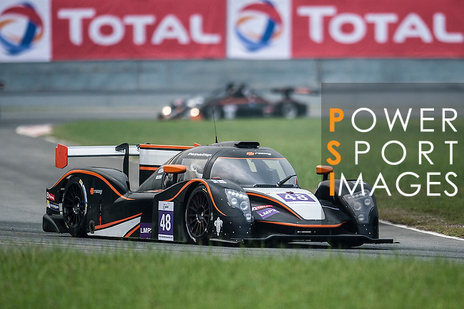 PS Racing, #48 ADESS 03, driven by Philippe Prette, Angelo Negro and Louis Prette in action during the Free Practice 1 of the 2016-2017 Asian Le Mans Series Round 1 at Zhuhai Circuit on 29 October 2016, Zhuhai, China.  Photo by Marcio Machado / Power Sport Images
