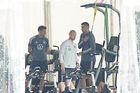 Leon Goretzka (Deutschland Germany), Niklas Süle (Deutschland Germany) - Seefeld 05.06.2021: Trainingslager der Deutschen Nationalmannschaft zur EM-Vorbereitung