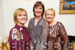 Kay O'Connor, Catherine Mahoney and Mary Ashe enjoying the evening in Bella Bia on Thursday.