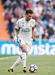 Kepler Laveran Lima Ferreira, Pepe, of Real Madrid in action during their La Liga match between Real Madrid and Deportivo Alaves at the Santiago Bernabeu Stadium on 02 April 2017 in Madrid, Spain. Photo by Diego Gonzalez Souto / Power Sport Images
