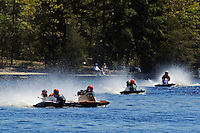 Racing for the start. (hydro)