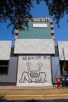 """Hi, How Are You"" mural in Austin, Texas is a national favorite landmark artwork"