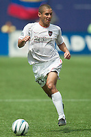 Craig Ziadie of the MetroStars. The Kansas City Wizards and the NY/NJ MetroStars played to a 0-0 tie on 8/13/03 at Giant's Stadium, NJ..