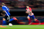 Angel Correa of Atletico de Madrid in action during the UEFA Europa League 2017-18 Round of 32 (2nd leg) match between Atletico de Madrid and FC Copenhague at Wanda Metropolitano  on February 22 2018 in Madrid, Spain. Photo by Diego Souto / Power Sport Images