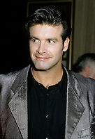 Montreal (Qc) CANADA - 1996  File Photo- (exact date unknow)<br /> <br /> Singer Roch Vosine at the Montreal launch of his  english album KISSING RAIN<br /> <br /> -Photo (c)  Images Distribution