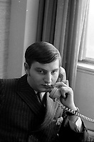 FILE -  l'avocat et futur politicien Serge Menard<br /> , dans les annes 70<br /> <br /> <br /> Photo : Alain Renaud - Agence Quebec Presse