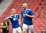 St Mirren v St Johnstone…09.05.21  Scottish Cup Semi-Final Hampden Park <br />Chris Kane celebrates his goal<br />Picture by Graeme Hart.<br />Copyright Perthshire Picture Agency<br />Tel: 01738 623350  Mobile: 07990 594431