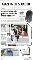 Prefeitura de São Paulo, recomenda que toda população use máscara. (Foto: Fábio Vieira/FotoRua)