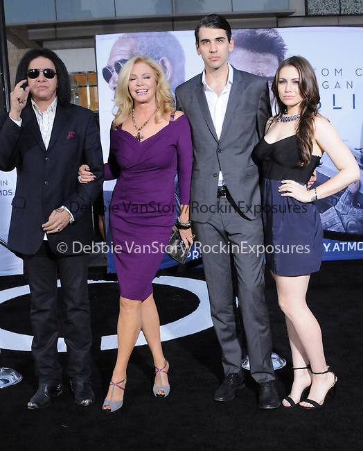 The Simmons Family at Universal Pictures American Premiere of Oblivion held at The DolbyTheater in Hollywood, California on April 10,2013                                                                   Copyright 2013 Hollywood Press Agency