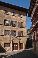 Europe/Espagne/Pays Basque/Guipuscoa/Pays Basque/Pasaia Donibane: La Casa Gaviria plus connue comme Casa de Victor Hugo
