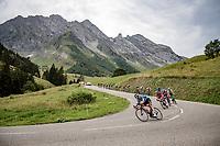 descending <br /> <br /> Stage 5: Megève to Megève (154km)<br /> 72st Critérium du Dauphiné 2020 (2.UWT)<br /> <br /> ©kramon