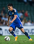Enzo Perez of Argentina in action during the HKFA Centennial Celebration Match between Hong Kong vs Argentina at the Hong Kong Stadium on 14th October 2014 in Hong Kong, China. Photo by Aitor Alcalde / Power Sport Images