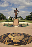 Dwight D. Eisenhower, Abilene, KS, Kansas, Statue of Dwight D. Eisenhower at the Eisenhower Center in Abilene.