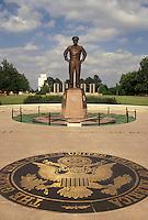 Dwight D. Eisenhower, Abilene, KS, Kansas, Statue of Dwight D. Eisenhower at the Eisenhower Center in Abilene.