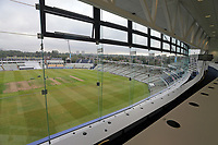 General view from the media centre ahead of Warwickshire CCC vs Essex CCC, Specsavers County Championship Division 1 Cricket at Edgbaston Stadium on 10th September 2019