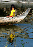 The Images from the Book Journey through Color and Time, 2006, Cambodia, Tonle Sap lake