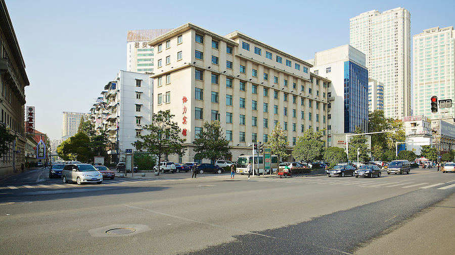 Site Of Consulate On The Bund In Hankou (Hankow).  The Vice-Consul's Residence Is To The Rear Of This Area.