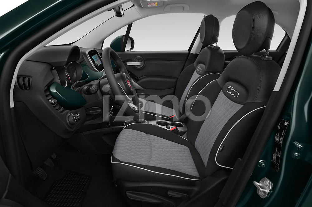 Front seat view of 2019 Fiat 500-X Cross 5 Door SUV Front Seat  car photos
