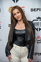 LOS ANGELES - APRIL 8: Amanda Paris at Mariana Velletto Listening Event inside Kevin Hart's HartBeat Studios in Los Angeles, CA on April 8, 2021. (Photo by Adrian Sidney/PictureGroup)