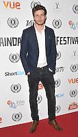 "Oliver Stark attends the ""My Hero"" Raindance Film Festival UK film premiere, Vue Piccadilly cinema, Lower Regent Street, London, England, UK, on Friday 25 September 2015. <br /> CAP/CAN<br /> ©Can Nguyen/Capital Pictures"
