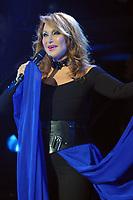Julie Pietri lors de la tournÈe 'Stars 80, 10 ans dÈj‡ !' au Palais Nikaia ‡ Nice, le samedi 18 mars 2017. # TOURNEE 'STARS 80 - 10 ANS DEJA !' A NICE